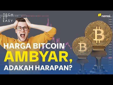 Harga Bitcoin Ambyar, Adakah Harapan?   Narasi Newsroom