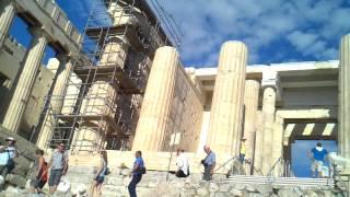 2013 Греция. Афинский Акрополь. Пропилеи(, 2013-09-29T14:19:57.000Z)