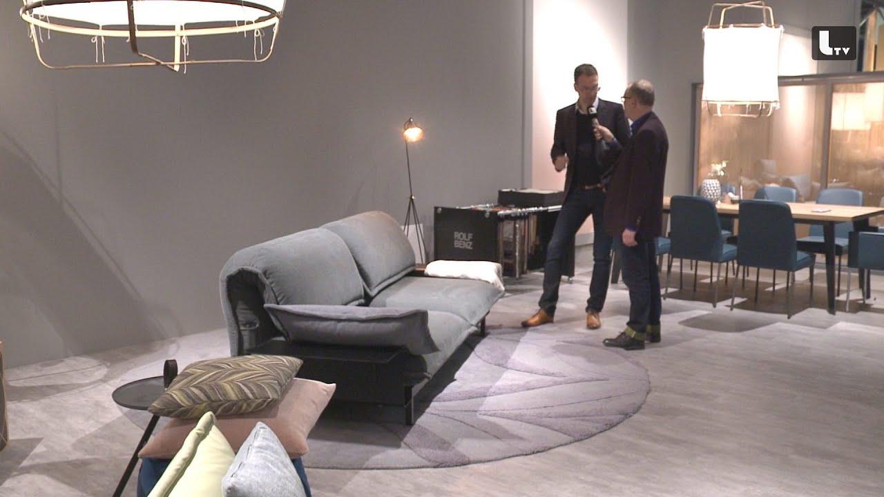 rolf benz imm cologne 2015 lifestyle tv youtube. Black Bedroom Furniture Sets. Home Design Ideas