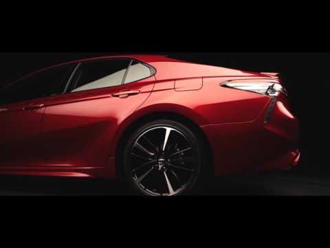 Новая Тойота Камри 2018, New Toyota Camry 2018 , первое знакомство