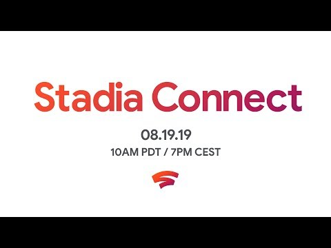 Watch the new Google Stadia Connect livestream here