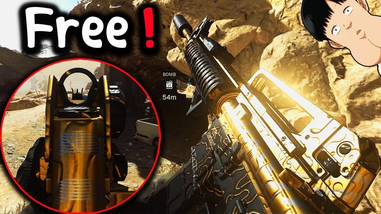 كيف تحصل شكل الامفور (M4A1)  المجاني؟! 🧐 | كود 16 وار زون | Call of Duty Warzone