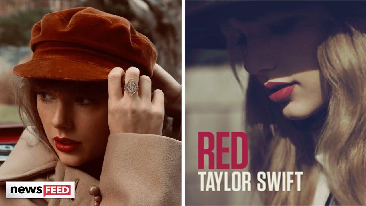 Taylor Swift Announces Next Album: Red (Taylor's Version)