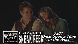 "Castle 7x07 Sneak peek # 1 ""Once Upon A Time In the West"" (HD/cc) Honeymoon Season 7 Episode 7  