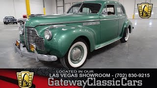 1940 Buick Roadmaster, Gateway Classic Cars-LVS#8