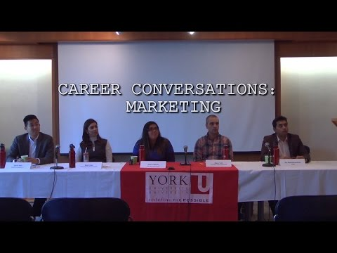 Career Conversations: Marketing