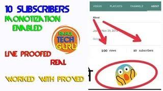 How To Enable Monetization on Youtube 2018 | Ye Setting Se Karlo Monetization Enabled Easy | #RTG