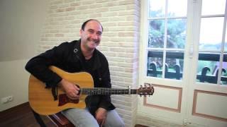 Olivier Gann, un guitariste les pieds dans l