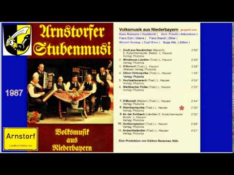 ARNSTORFER STUBENMUSI  -   Steinbachpolka  ( Titel Nr. 8 von 11 Titeln )  -  1987