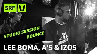 Lee Boma, A's & iZos «Exclusive Radio Freestyles» live   Bounce   SRF Virus