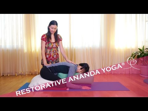 3 Restorative Ananda Yoga® Poses - Experience DEEP Relaxation