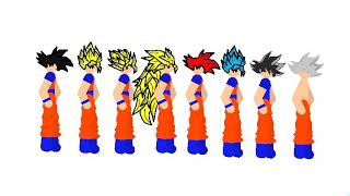 Stick Nodes | Goku pack (Link in description)