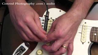 GK 3 guitar pick up permanent install and GR55 sounds part 1