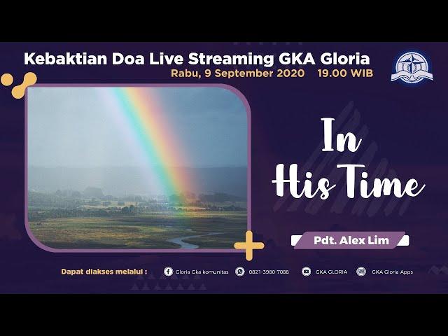 Kebaktian Doa Rabu Live Streaming - Pdt. Alex Lim - 09 September 2020