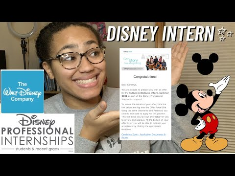 DISNEY INTERN Application Process Vlog✨ I Applied to Over 30 Internships and Got My Dream Company!