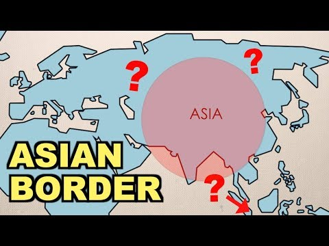 Where Are The Asian Borders? (part 2)