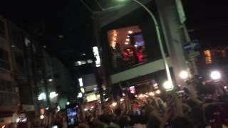 【感動的】祝・広島カープ優勝!その瞬間、広島市内では…!?