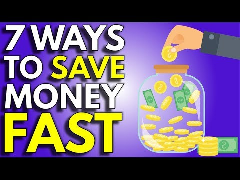 7 Easy Ways To Save Money | How To Save Money Faster
