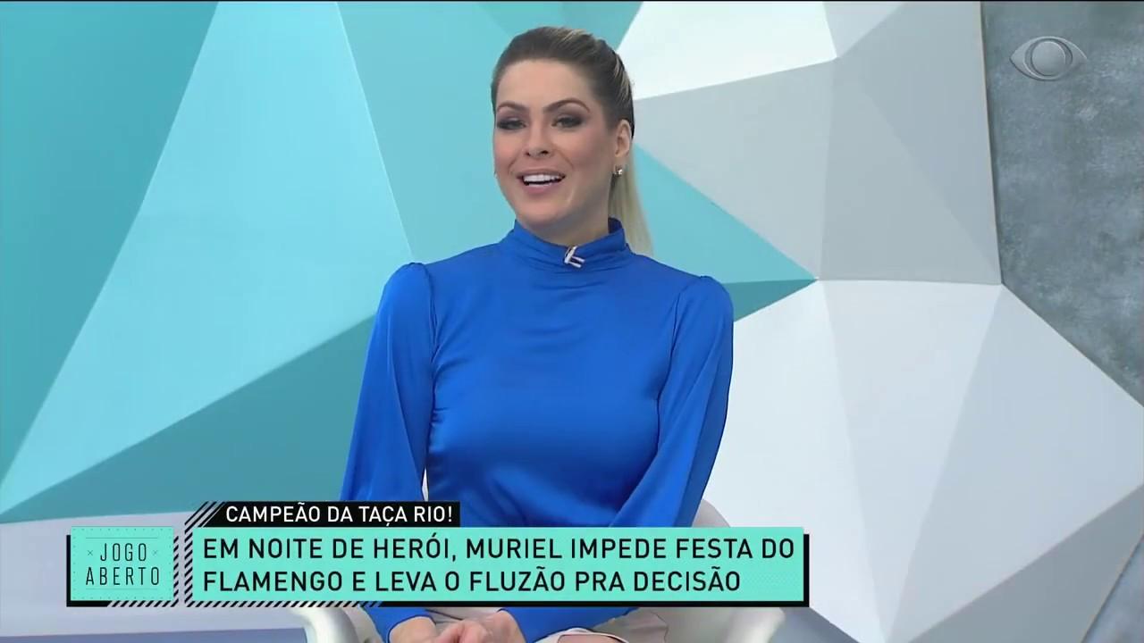 RENATA E DENÍLSON CRITICAM ATUAÇÃO DO FLAMENGO: PIOR PARTIDA QUE VI | JOGO ABERTO