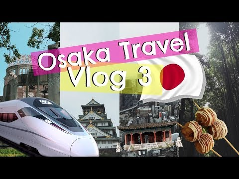 OSAKA TRAVEL VLOG 3 | Kyoto, Hiroshima, Arcade Night