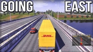Going East - Euro Truck Simulator 2 DLC (Career Profile)