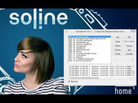 Présentation exclusive de la nouvelle fonctionnalité de lecture audio/mp3 de Soline 2.0