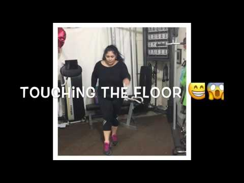 Plus Size Fitness Weight Loss- T25 -PullDay.. Girl lift too