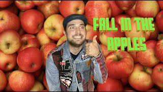 Fall in the apples.