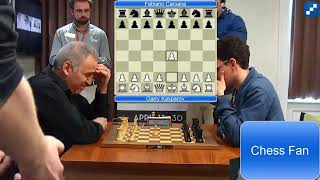 Scotch Game Opening Garry Kasparov VS Fabiano Caruana at Blitz Chess 2016