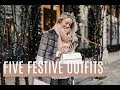 Five Festive Outfits // What I Did This Week // Fashion Mumblr // AD