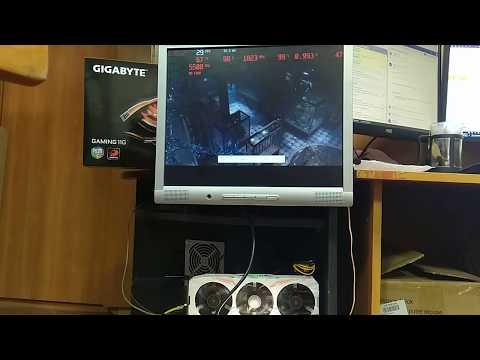 Видеокарта Gigabyte 1080Ti GAMING , серийный номер *1007338