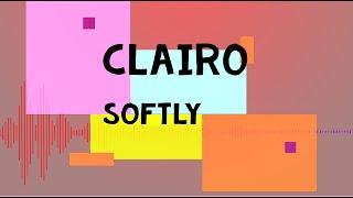 "Clairo - ""Softly"" (Recorded Live For World Cafe) [LYRICS]"