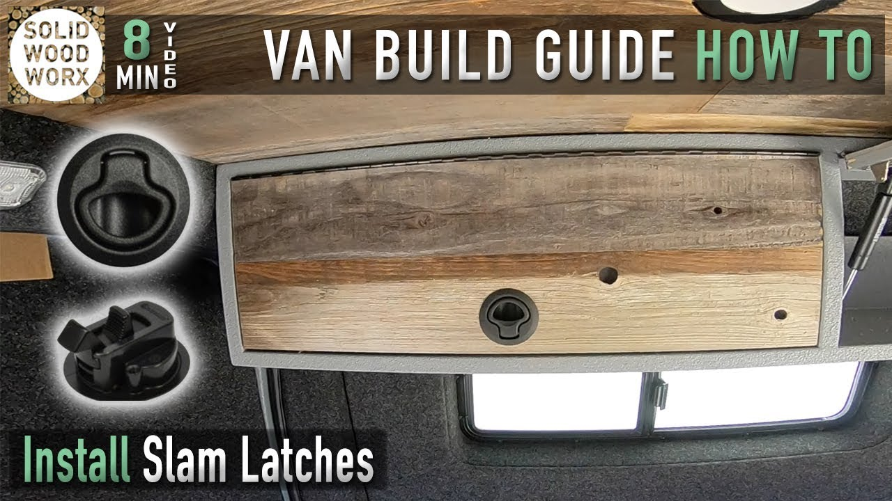 How to Install Slam Latches