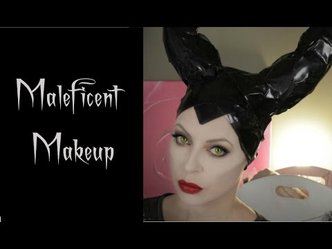 Maquillage De Maléfique Pour Halloween Maleficent Makeup Youtube