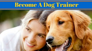 How Do I Become A Dog Trainer - Careers With Dogs