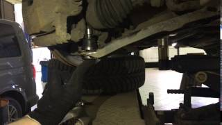 Замена шаровой на Nissan X-Trail в Рейсинг Сервис