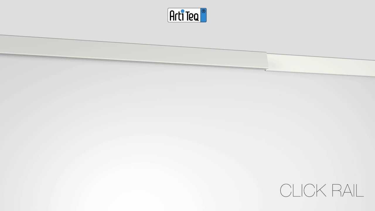 Click Rail, flexibel ophangsysteem voor schilderijen en posters met ...