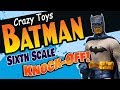 CRAZY TOYS BOOTLEG Sixth Scale BATMAN Sideshow Collectibles  KNOCK OFF Toy Review