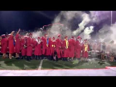 Mingus Union High School Class of 2016 Changing of the Tassel