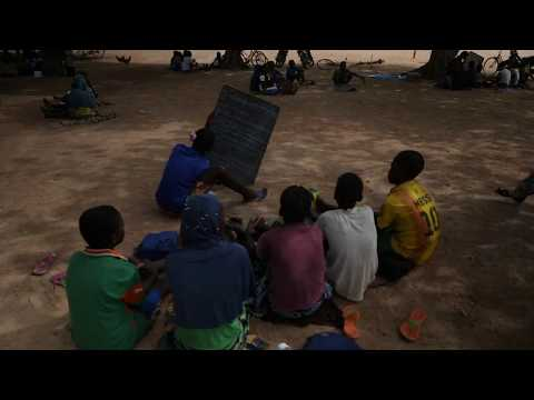 Besøg en skole i Burkina Faso