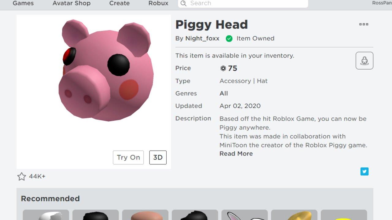 Roblox Mini Head Piggy Head Hat Trolling In Piggy Mini Social Experiment Roblox Youtube