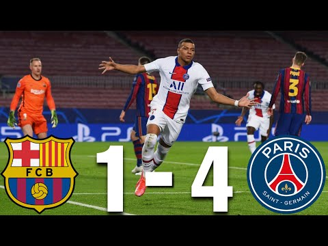 Barcelona vs PSG [1-4], Champions League, Round of 16, 2021 - MATCH REVIEW