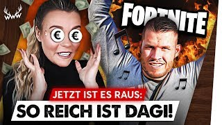 OMG: So REICH ist Dagi Bee! • HYPE um Fortnite-Song! | #WWW