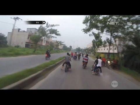 Aksi Nekat Para Pembalap Liar Kabur Melawan Arus - 86