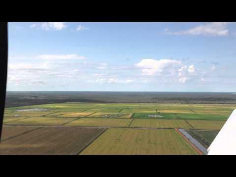 Sobrevoando Projeto Irrigação Luis Alves do Araguaia - Cirrus SR20