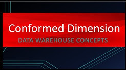 Why Conformed Dimension is so important | Data Warehouse Concepts