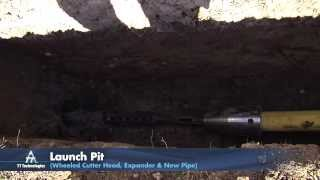 Grundoburst® Hydraulic Pipe Splitting Demo: Steel Pipe