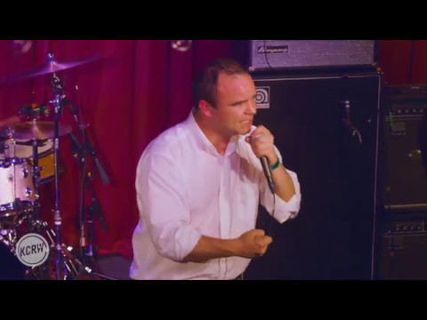 Future Islands performing Through The Roses  on KCRW