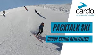 Group Skiing Reinvented: Introducing Group Intercom to the Slopes | By Cardo Systems