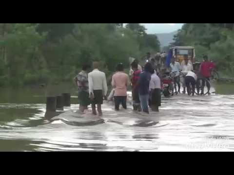 Flood Water in East Godavari at Devi puram